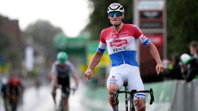 Mathieu van der Poel gagne en puncheur