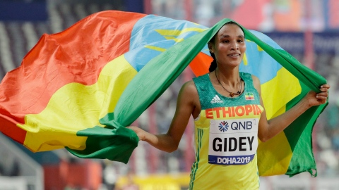 Gidey fracasse le record du 10 000 m