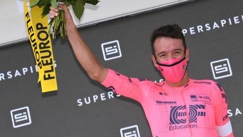 Uran remporte la 7e étape, Carapaz reste en jaune