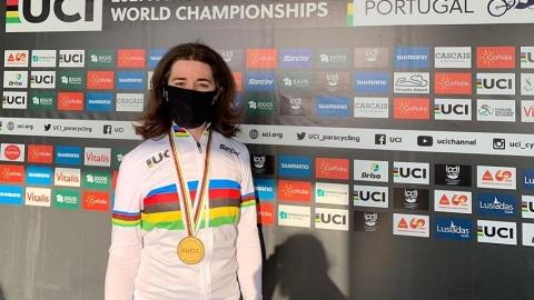 Molnar reviendra du Portugal avec deux maillots arc-en-ciel