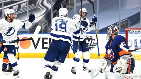 Les Islanders sont bons, le Lightning est meilleur