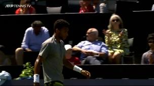 Autre défaite de Félix Auger-Aliassime en finale d'un tournoi de l'ATP