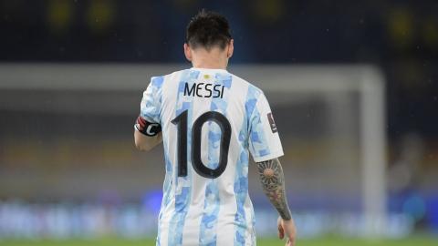Entrée en scène lundi de Messi et l'Argentine