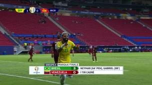 Brésil 3 - Vénézuela 0