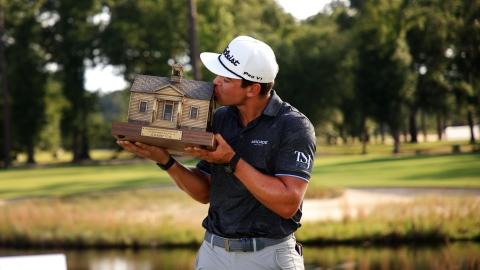 Garrick Higgo, une étoile montante de la PGA