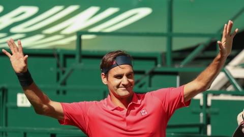 Halle : Federer réussit sa rentrée, Pospisil éliminé