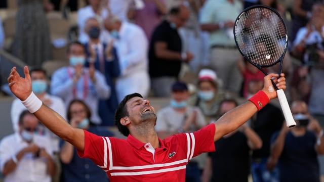 Novak Djokovic trace sa propre voie