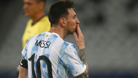 Le but de Messi n'a pas suffi; gain du Paraguay