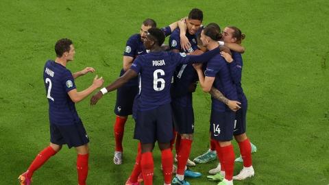 La France commence le tournoi du bon pied