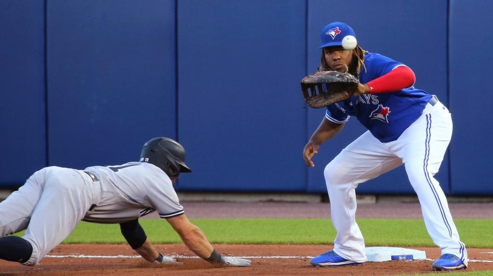 Guerrero fils battu de vitesse par les Yankees