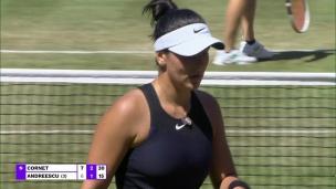 WTA : Cornet élimine Andreescu à Berlin