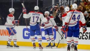 Canadiens 3 - Golden Knights 2
