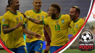 Neymar et le Brésil en mission