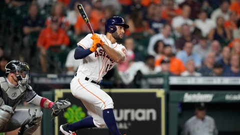 Abraham Toro explose dans la victoire des Astros