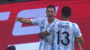 Argentine 1 - Uruguay 0