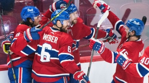 Golden Knights 2 - Canadiens 3 (prolongation)