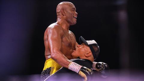 Anderson Silva a aussi du succès en boxe