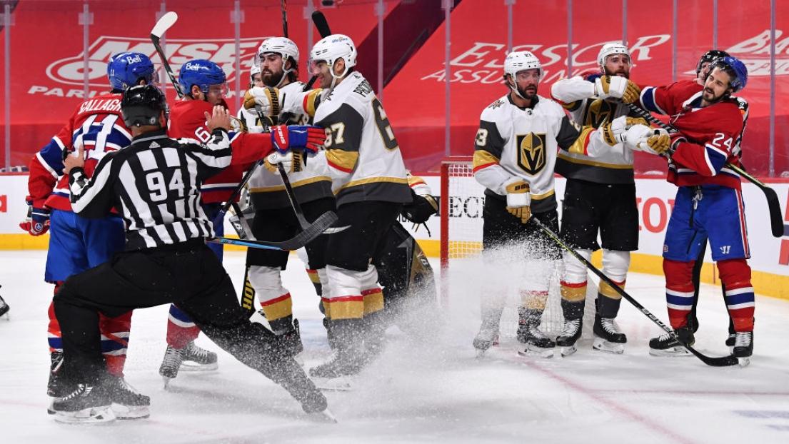 Canadiens et Golden Knights