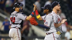 Braves 1 - Mets 0 (7 manches)