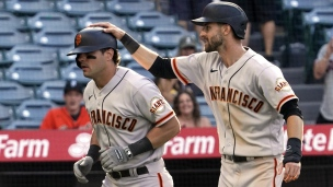 Giants 9 - Angels 3 (13 manches)