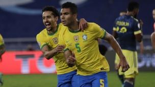 Brésil 2 - Colombie 1