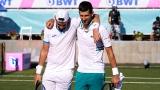 Novak Djokovic et Carlos Gomez Herrera