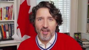 La folie du hockey chez les Trudeau!