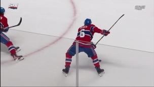 Capitaine Weber brise la glace avec puissance