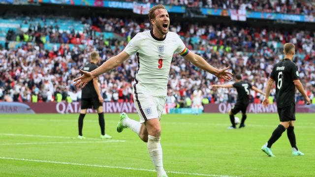 L'Angleterre bat l'Allemagne et passe en quarts