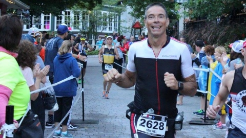 L'Ironman Michel Bernier meurt durant son sommeil !
