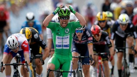 Une 32e victoire d'étape pour Cavendish au TDF