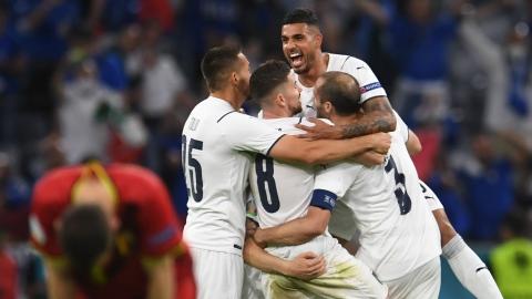 L'Italie foudroie la Belgique et poursuit sa reconquête