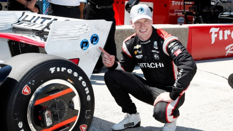 IndyCar: Josef Newgarden remporte le GP d'Ohio