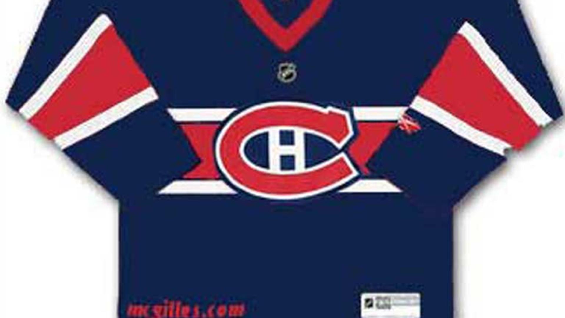Le Nouveau Chandail Du Canadien De Montreal Pour La Saison 2010 2011 Lnh Grand Club Rds Ca