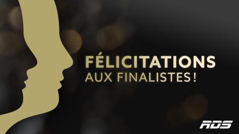 Huit nominations pour RDS au gala des prix Gémeaux