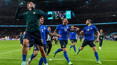 L'Italie en finale de l'Euro