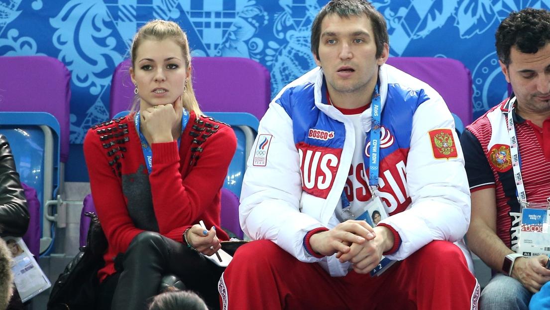 Maria Kirilenko et Alex Ovechkin
