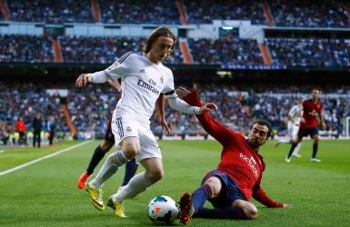 Modric avec le Real Madrid jusqu'en 2020