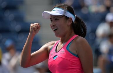 WTA : victoire surprise de Peng Shuai chez elle