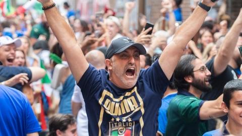 L'euphorie au rendez-vous dans les rues de la Petite Italie