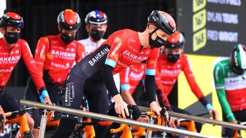 Perquisition chez l'équipe Bahrain Victorius au Tour de France