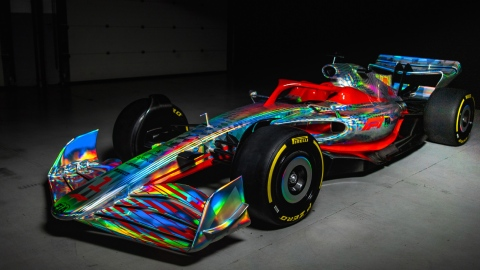 La F1 dévoile son nouveau look pour 2022