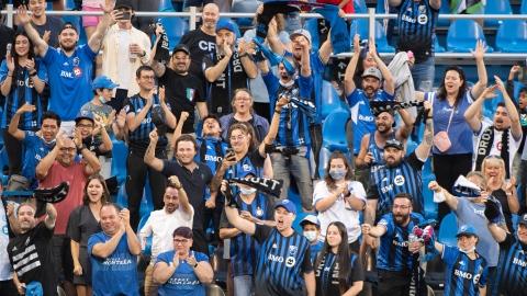 Des amateurs du CF Montréal comblés