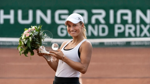 Putintseva remporte le tournoi de Budapest