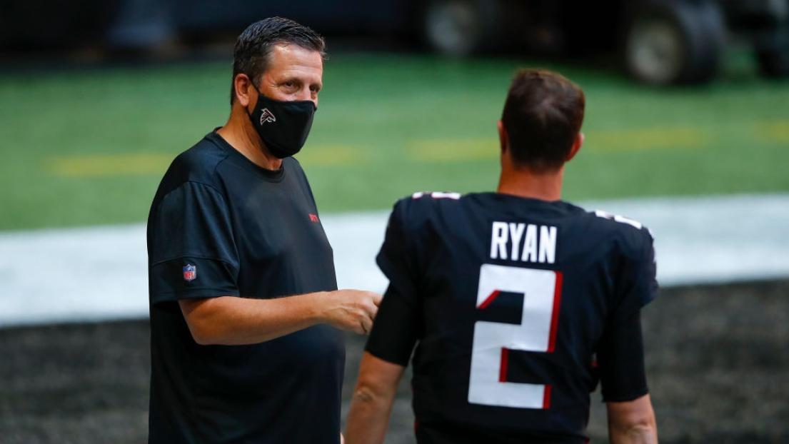 Greg Knapp et Matt Ryan