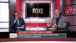 Jean Pascal et Stéphan Larouche se séparent