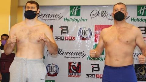 Arslanbek Makhmudov et Pavel Sour font le poids
