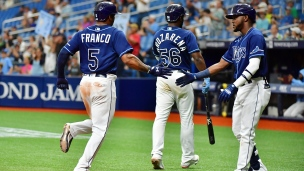 Rays 5 - Indians 4