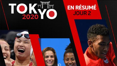 En résumé : le Jour 2 du Canada aux JO de Tokyo