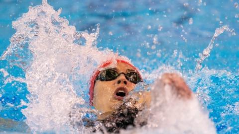 Kylie Masse brise un record olympique